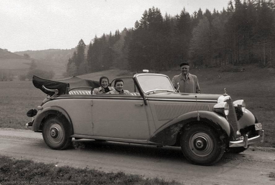 1939 mercedes benz 230 cabriolet b w153 for 1946 mercedes benz