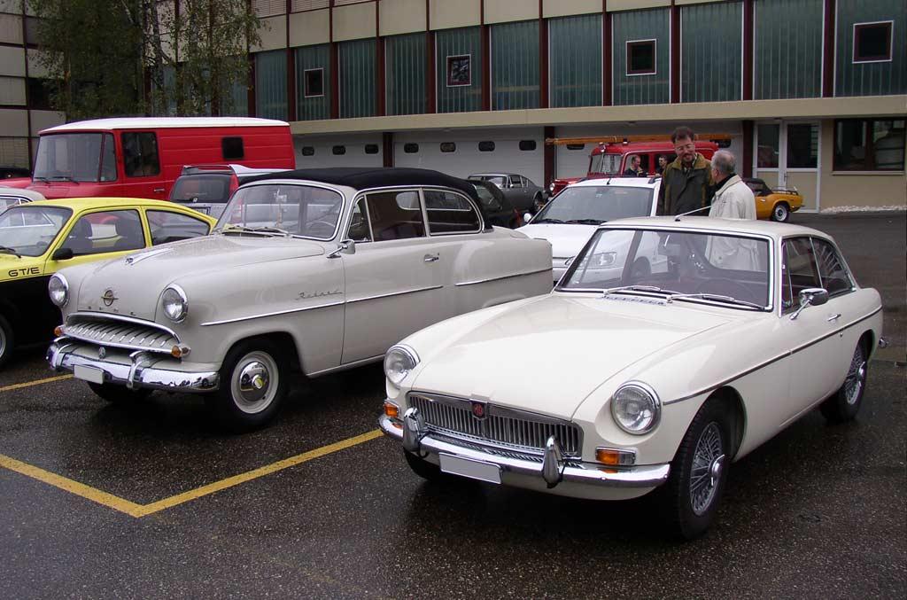 Langenthal Classic Car Meeting September 2004